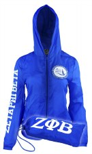 Zeta Phi Beta Travel Winbreaker