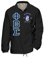 Phi Beta Sigma Crossing Jacket