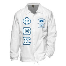 Phi Beta Sigma Crossing Jacket