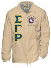 Sigma Gamma Rho Crossing Jacket