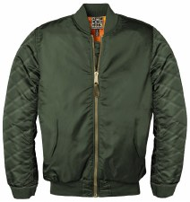 Ladies Blank Bomber Jkt
