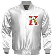 Kappa Alpha Psi Crest Letter Satin Jacket