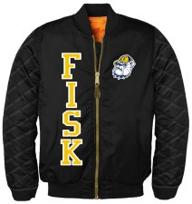 Fisk University Bomber Jacket