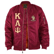 Kappa Alpha Psi Flight Letter Bomber Jacket