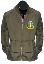 Alpha Kappa Alpha Quarter Length Military Flight Jacket