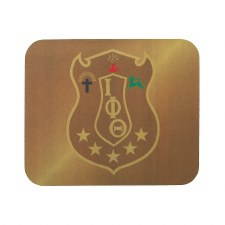 Iota Phi Theta Crest Mouse Pad