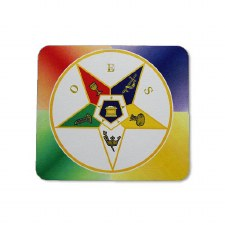 Order of the Eastern Star Crest Mouse Pad