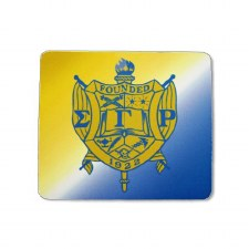 Sigma Gamma Rho Crest Mouse Pad