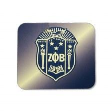 Zeta Phi Beta Crest Mouse Pad