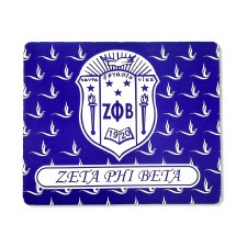 Zeta Phi Beta Crest Mousepad