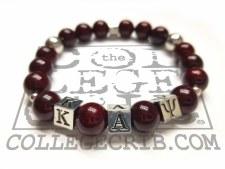 Kappa Alpha Psi Beaded Bracelet