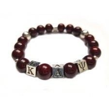 Kappa Alpha Psi Beaded Bracelet