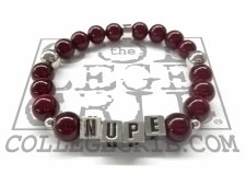 Kappa Alpha Psi NUPE Beaded Bracelet