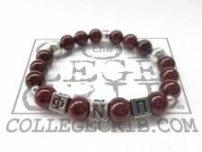 Phi Nu Pi Beaded Bracelet