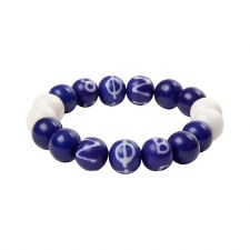 Zeta Phi Beta Wooden Beads Bracelet