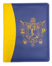 Sigma Gamma Rho Two Tone Pad Holder