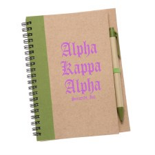 Alpha Kappa Alpha Eco Notebook