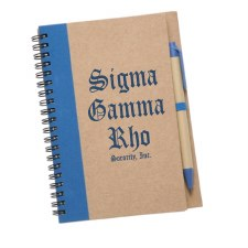 Sigma Gamma Rho Eco Notebook