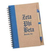 Zeta Phi Beta Eco Notebook