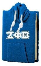 Zeta Phi Beta Hooded Tote Note