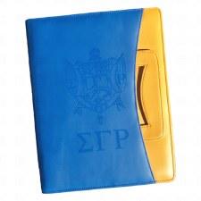 Sigma Gamma Rho Crest & Letters Pad Portfolio