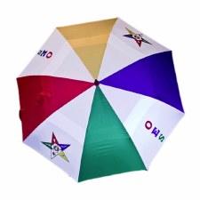 Order of the Eastern Star Large Vented Umbrella