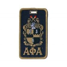 Alpha Phi Alpha Crest Luggage Tag