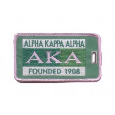 Alpha Kappa Alpha Founded Luggage Tag