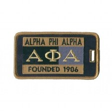 Alpha Phi Alpha Founded Luggage Tag