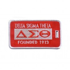 Delta Sigma Theta Founded Luggage Tag