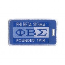 Phi Beta Sigma Founded Luggage Tag