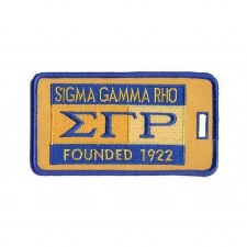 Sigma Gamma Rho Founded Luggage Tag