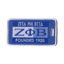 Zeta Phi Beta Founded Luggage Tag