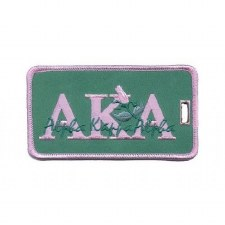 Alpha Kappa Alpha Signature Luggage Tag
