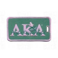 Alpha Kappa Alpha Signature Luggage Tag