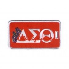Delta Sigma Theta Signature Luggage Tag