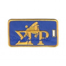 Sigma Gamma Rho Signature Luggage Tag
