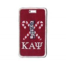 Kappa Alpha Psi Kane Mascot Luggage Tag