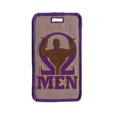 Omega Psi Phi Man Mascot Luggage Tag