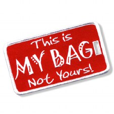 Delta Sigma Theta My Bag Luggage Tag