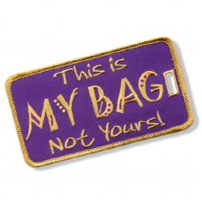 Omega Psi Phi My Bag Luggage Tag