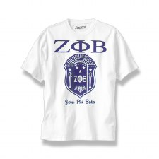 Zeta Phi Beta Large Shield Tee