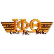 Iota Phi Theta Greek Wings Patch