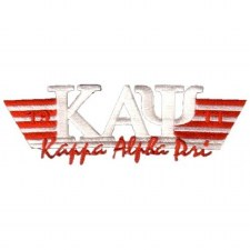 Kappa Alpha Psi Greek Wings Patch