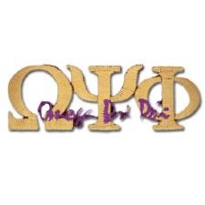 Omega Psi Phi Signature Patch