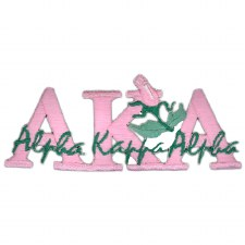 Alpha Kappa Alpha Mascot & Signature Patch