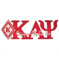 Kappa Alpha Psi Mascot & Signature Patch