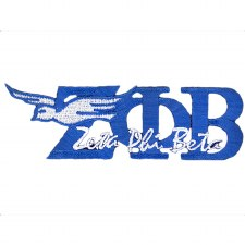 Zeta Phi Beta Mascot & Signature Patch