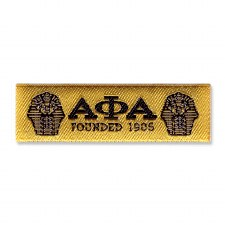 Alpha Phi Alpha Woven Label Patch