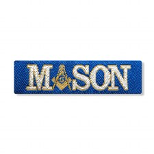 Mason Woven Label Patch